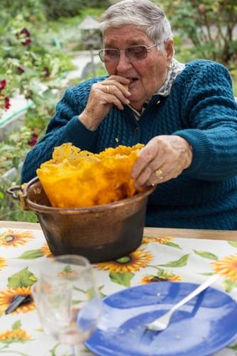 nonna rita polenta crust